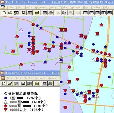 必威体育betway888远东零市场调查研究公司--顾客分布及消费图